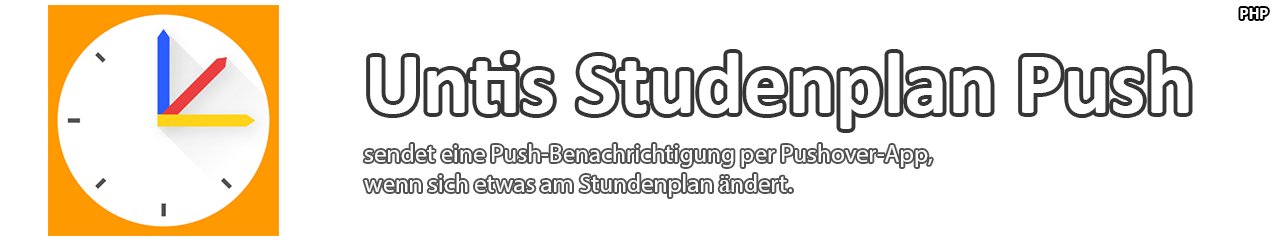 Untis Stundenplan Push
